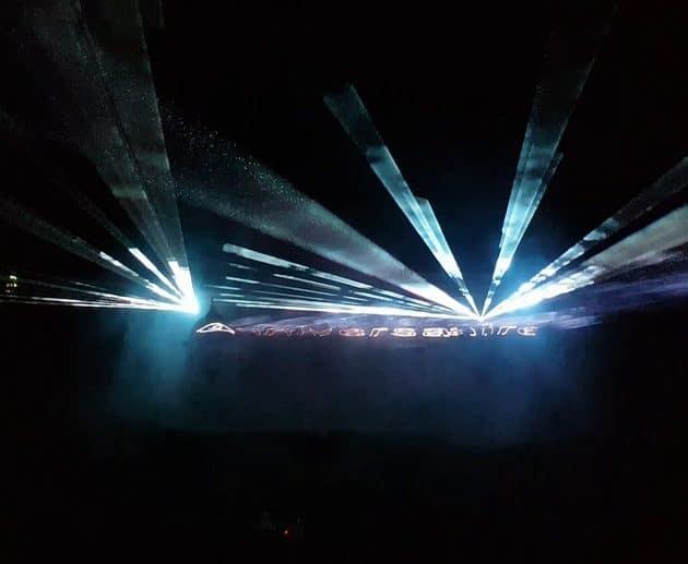 Show Laser anniversaire - La Fée Soirée
