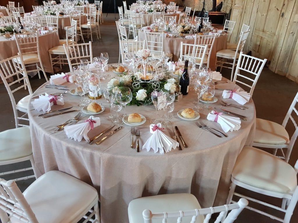 Déco Table Baptême et communion Lyon - La Fée Soirée