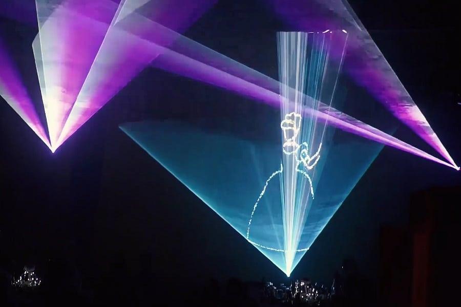 Organisation Bat Mitzvah Show Laser Lyon - La Fée Soirée