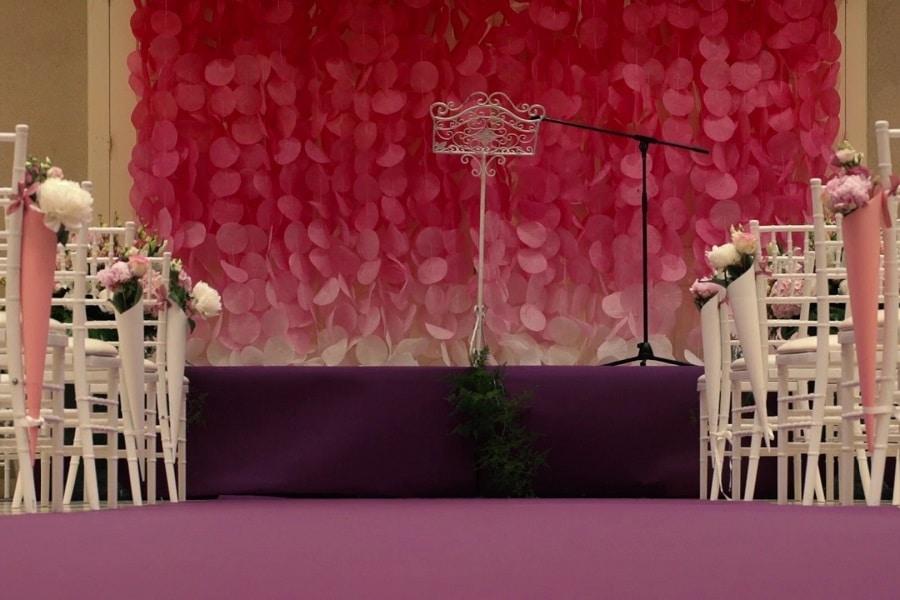 Déco Salle de Prière Mariage Lyon - La Fée Soirée