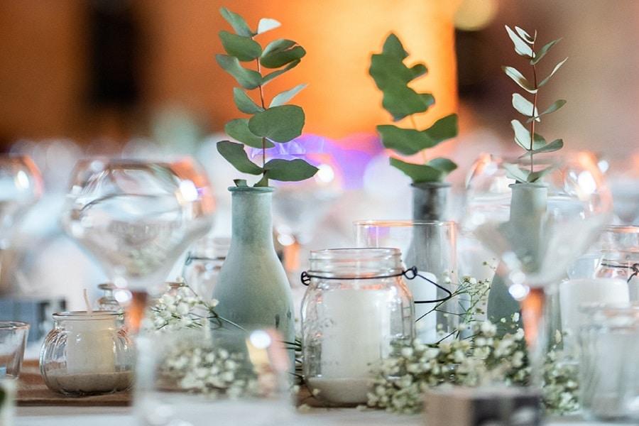 Décoration de Table Mariage Lyon - La Fée Soirée