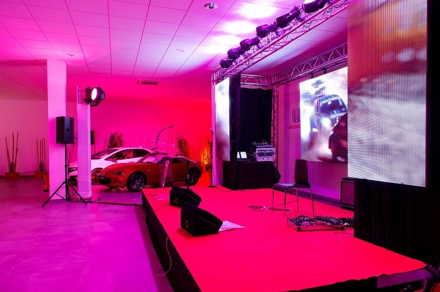 Lancement produit Honda Scène Lyon - La Fée Soirée